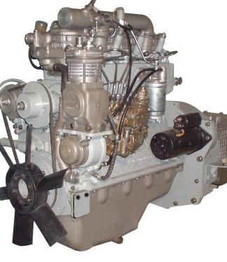 Двигателя Зил