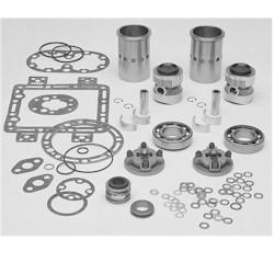 Ремкомплекты компрессора (вклад.,кольца,прокладки, манжета)